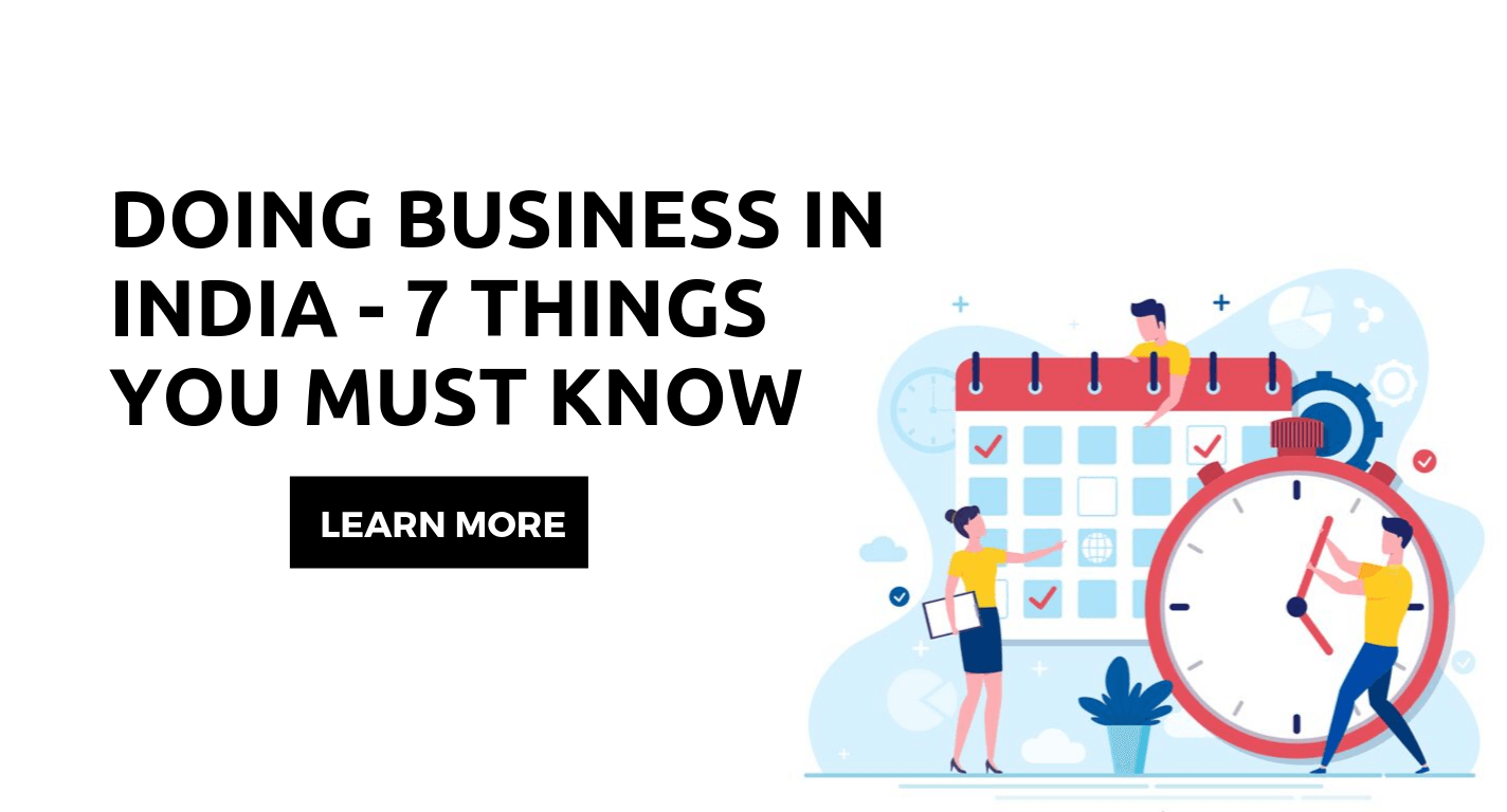 doing business in India - things to know