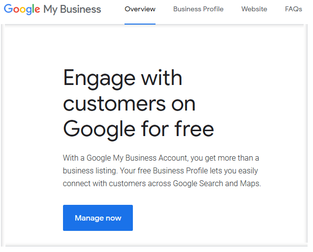 Google my business for SMEs