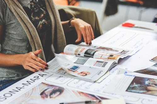 print media for marketing SMEs